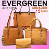 16 Years Handbags Manufacturer, OEM/ODM, with 2 Factories & 3, 500+ New Sample Display in Big Showroom, Welcome to Visit Evergreen (SY7181)
