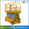 6m Electric Aerial Working Hydraulic Self Propelled Scissor Lift