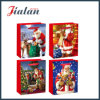 Customize Paper Printed Working Father Christmas Packing Gift Paper Bag