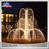 Morden LED Outdoor Event Wedding Giant Fountain Decoration Light