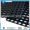 Heavy-Duty Anti-Fatigue Outdoor Rubber Grass Ring Mat, Drainage Rubber Mat