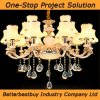 Shinning and Beautiful Ceiling Lamp with 15/8/6 Bulbs