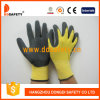 Ddsafety 2017 Yellow Nylon with Black Nitrile Glove