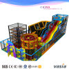Pirate Ship Adventure Climbing Rope Course Big Slide Big Park Indoor Playground Commercial Use