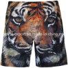 Oeko-Tex 3D Print Full Waist Polyester Men Board Short Swimwear