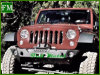 for Jeep Unlimited Jk Black Front off Road Guard Steel