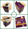 Single Wall Corrugated Balloon Packaging Boxes with Color Printing
