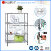 Adjustable DIY Chrome Home Display Wire Shelving (CJ-C1115)