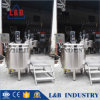L&B Electric Steam Jacketed Kettle Price/Jacket Tank/1000L Mixing Tank