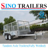 Heavy Duty Full Cage Tandem Welded Box Trailer