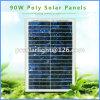 90W High Efficiency Poly Renewable Energy Saving Solar Panels