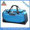2017 New Arrival Men Blue Jacquard Waterproof Travel Duffel Sports Bag