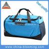 New Arrival Men Blue Jacquard Waterproof Travel Duffel Sports Bag