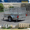 6X4 7X4 7X5 8X5 8X4 Galvanized Box Trailer with Tilt