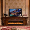 European Wood Furniture Heater Electric Fireplace with Ce Certificate (328S)