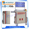 Anesthesia Hospital Trolley with Stainless Steel Guard Rail Hot Emergency Cart (GT-TA2162A)
