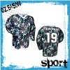 Latest Digital Sublimation Printing Camo Hockey Shirts (H026)