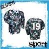 Latest Digital Sublimation Printing Camo Hockey Shirts (H026)