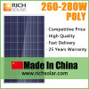 280W Poly Photovoltaic Solar Panel for Home Use