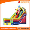 2017 Inflatable Toy/Clown Double Lane Slide (T4-213)