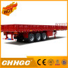 Chhgc 3axle Cargo/Fence Semi-Trailer with Side Wall
