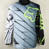 Gray Quality Custom Trendy Sublimation Motorcycle Jersey (MAT20)
