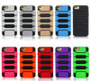 PC TPU Rubber Combo Armor Case for iPhone 6