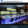 Solid Surface LED Bar Top/Bar Countertop/Artificial Marble Lighting Illuminating Bar Counter