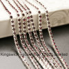 Rhinestone Brass Cup Chain Stone Setting for Cellphone