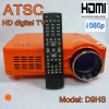 ATSC LED Projector 1080p Projector with TV Turner, S-Video, Support 16: 9 HDMI 1080p (D9HS)