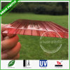 10-Years Warranty Frosted Polycarbonate Two-Layers Hollow PC Corrugated Plastic Roofing Sheets