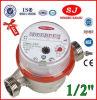 Single-Jet Dry Dial Brass Body Class B Water Meter