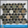 Natural Colorful Slate Mosaic Tile for Walling and Flooring