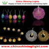Novelty 2m Clear Wire LED Holiday Lights