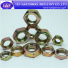 High Quality DIN934 Yellow Zinc Plated Hex Nut