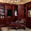 Oppein Luxury Palace Alder Solid Wood Closet (YG21309)