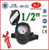 Multi Jet Dry Dial Nylon Plastic Body Pn 16 Class B Water Meter