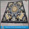 Polished Water Jet Marble Stone Medallion for Hotel, Medallion Pattern