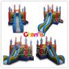 Castle Slide Combo/Inflatable Bouncer Slide Bb076