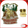 Factory Supply Customized Gold Metal Badge with Cheap Price