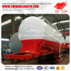 3 Compartments Mineral Powder Tank Semi Trailer for Africa