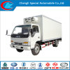 New Condition Mini JAC Mobile Kitchen Truck 3 Ton JAC Mini Refrigerated Van Truck Mini Frozen Truck Sale