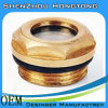 Brass Oil Level Sight for Compression Engine
