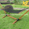 Portable Rope Hammock Bed with Bars