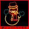 Outdoor Holiday Decoration Rope 2D Motif Snowman Light