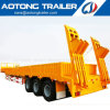 60t Cargo Excavator Transport Side Panel Low Bed Semi Trailer