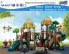 Plastic Commercial Playground Equipment with Electronic Toy Hf-11201