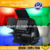 Factory Supply 144X3w RGBW LED City Color Waterproof Stage Light