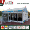 Liri Outdoor Commercial Trade Show Tent with Glass Wallls