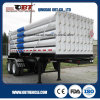 2 Axle 18 Cbm CNG Tube Container Truck Semi Trailer